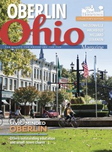 Home delivered cover for Northeast Ohio Featuring a view of downtown Oberlin!