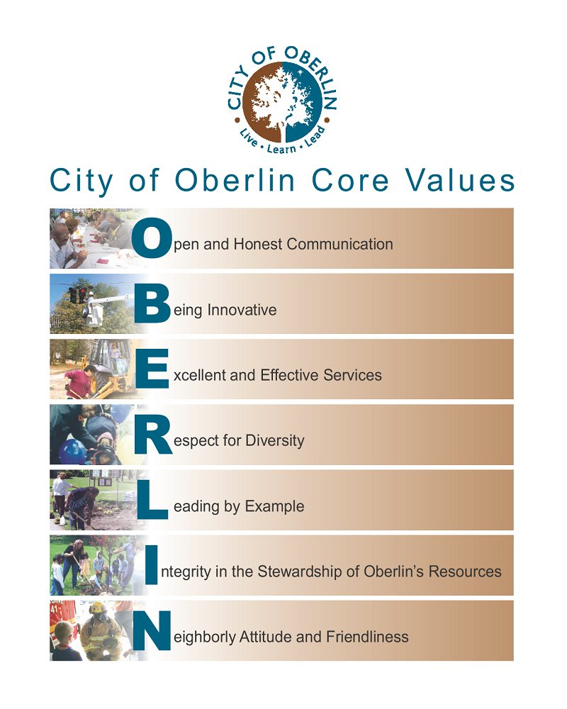 Oberlin Core Vlues